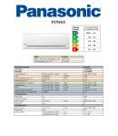 CLIMATIZZATORE CONDIZIONATORE PANASONIC SERIE PZ INVERTER STANDARD GAS R-32 9000 BTU PZ9SKE A+